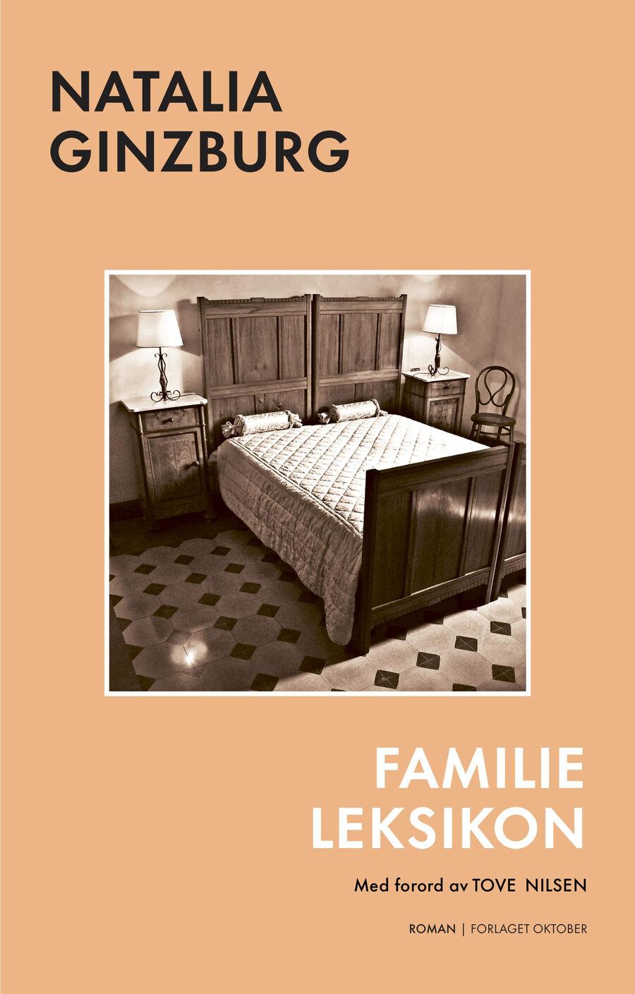 Bokomslag: Natalia Ginzburg – Familieleksikon